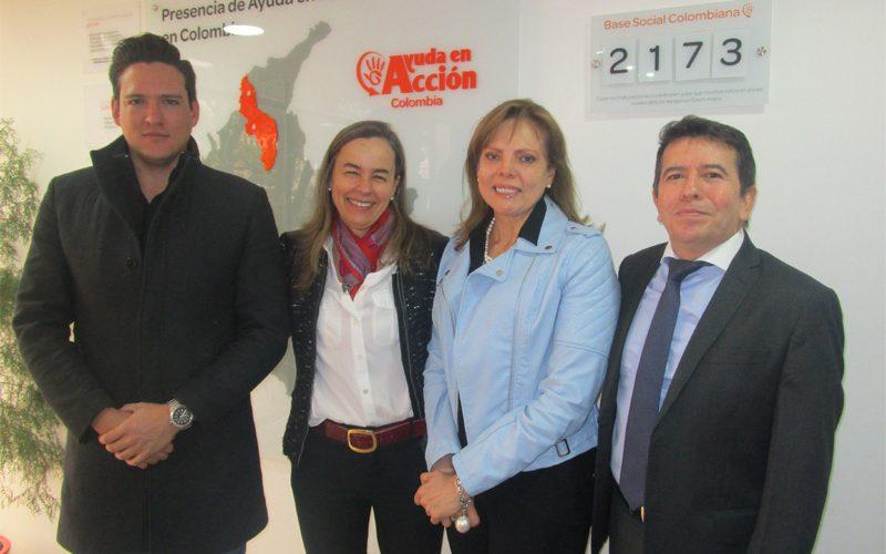 IRPE ANUNCIA CONVENIO CON LA FUNDACIÓN AYUDA EN ACCIÓN COLOMBIA