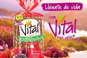 Pan Vital Bimbo 100% Natural