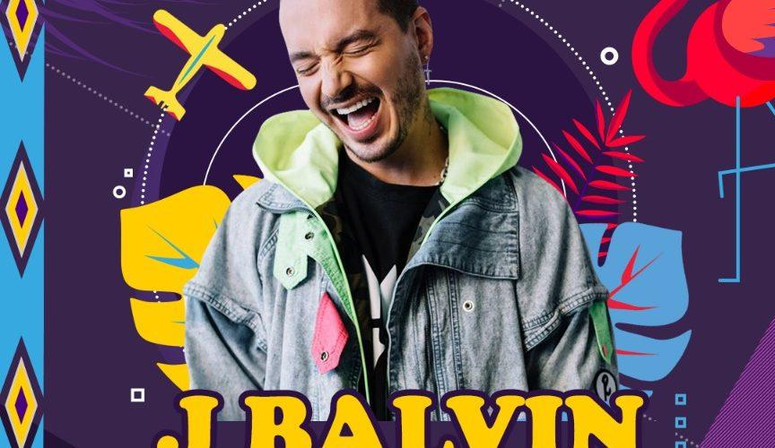 JBALVIN SERÁ UNO DE LOS PROTAGONISTA EN EL FESTIVAL ISLAND TAKEOVER EN LA ISLA DE ARUBA.