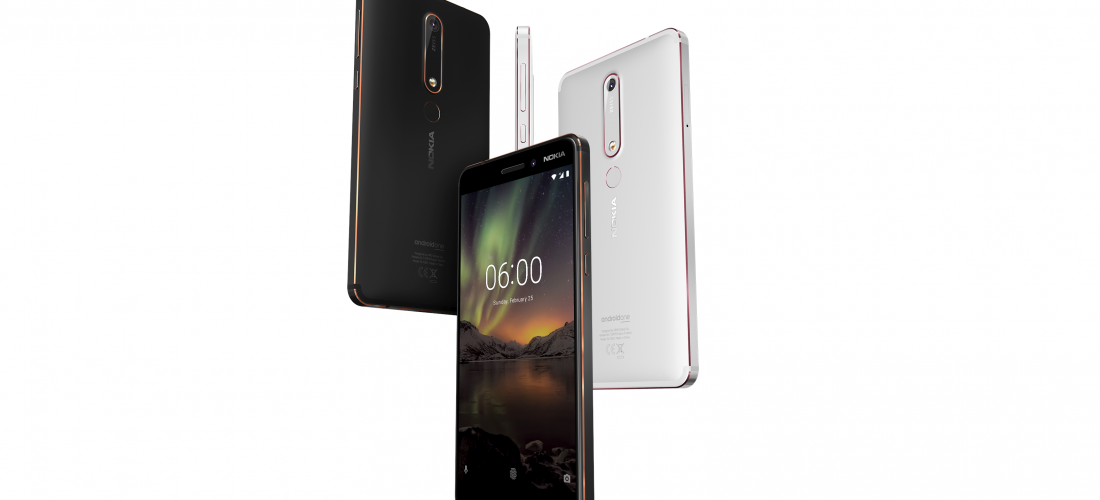 Android 9 Pie ™ llega a Nokia 6.1