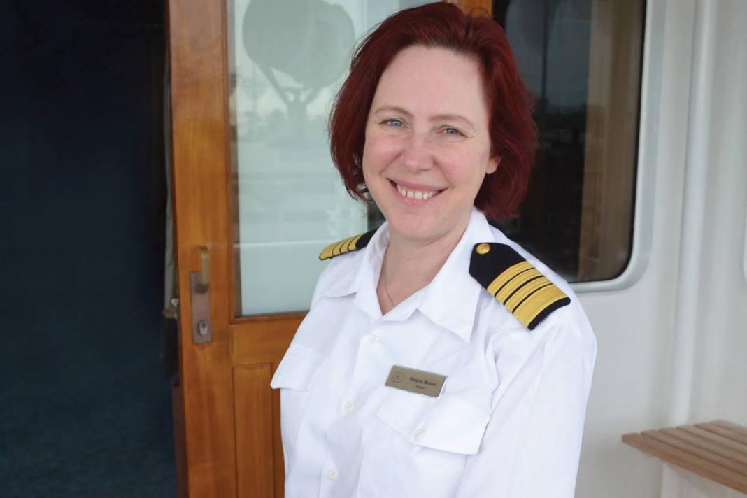 Primera mujer capitana