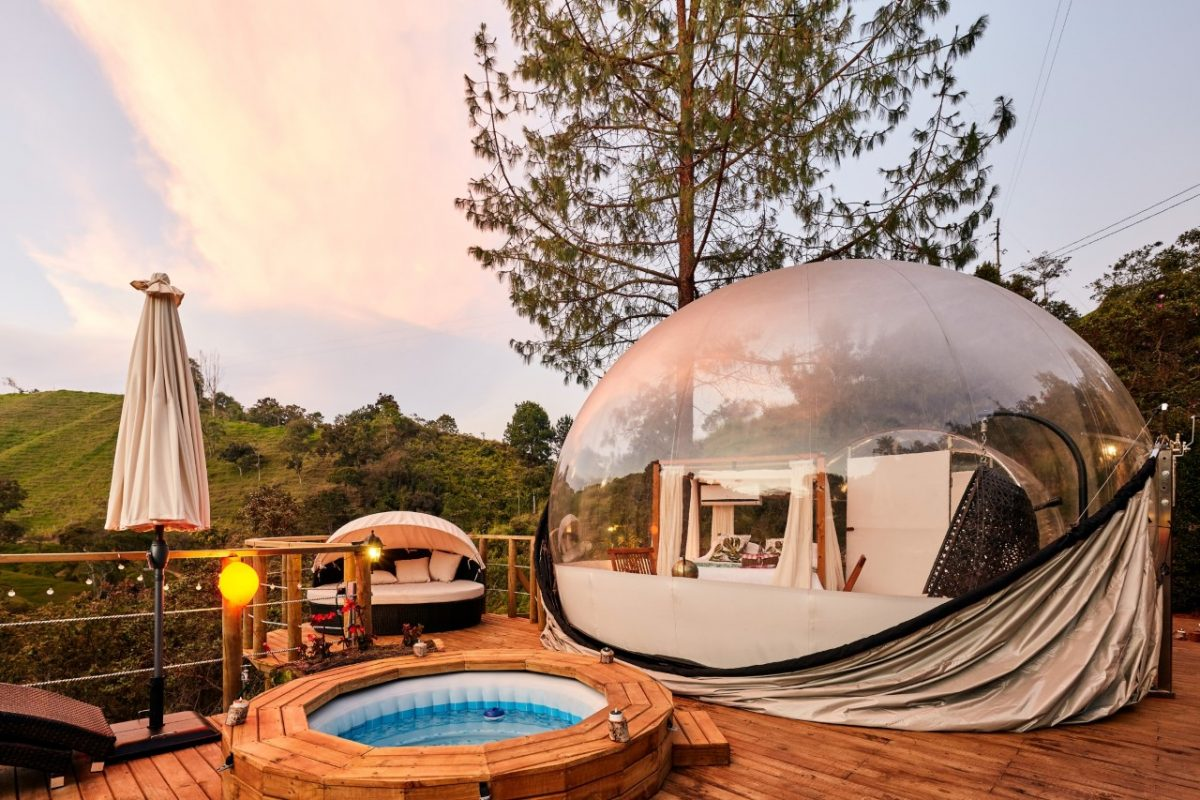 BUBBLESKY (GLAMPING)