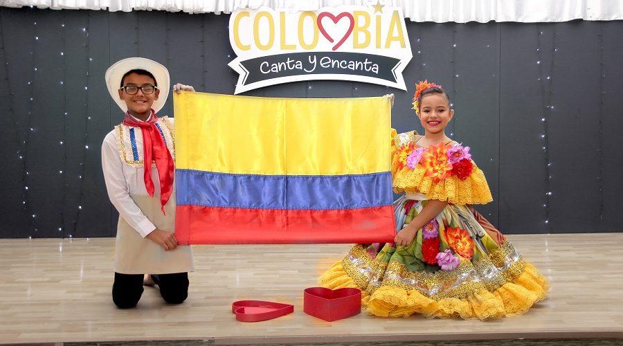 COLOMBIA CANTA Y ENCANTA