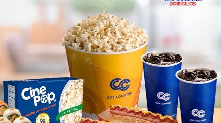 Cine Colombia & Domicilios.com